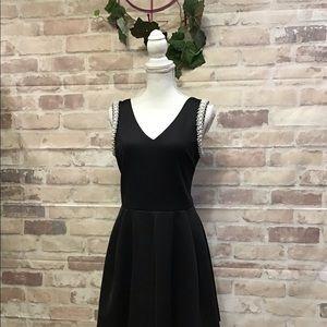 Aqua Summer Dresss w/embellished pearls..sweet Med